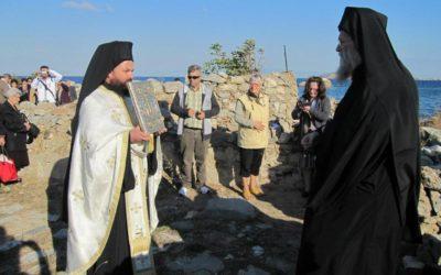 Αφησιά. Πρώτη Θεία Λειτουργία μετά από 89 χρόνια (video)